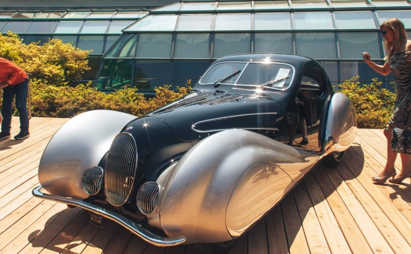 Из Абано Терме в Комо на аукцион ретро автомобилей