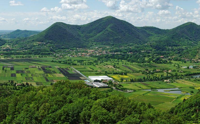 Эуганские холмы Абано Терме достопримечательности вина экскурсии