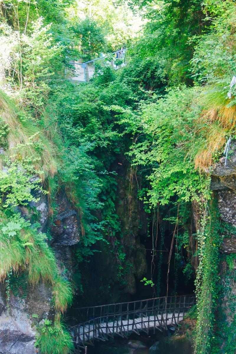 Тревизо, пещеры Кальерон