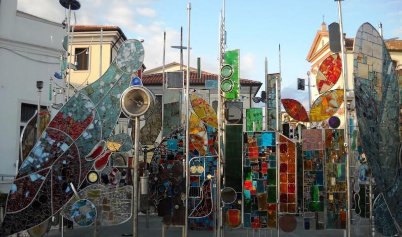 Монтегротто Терме, Италия - выставка стекла