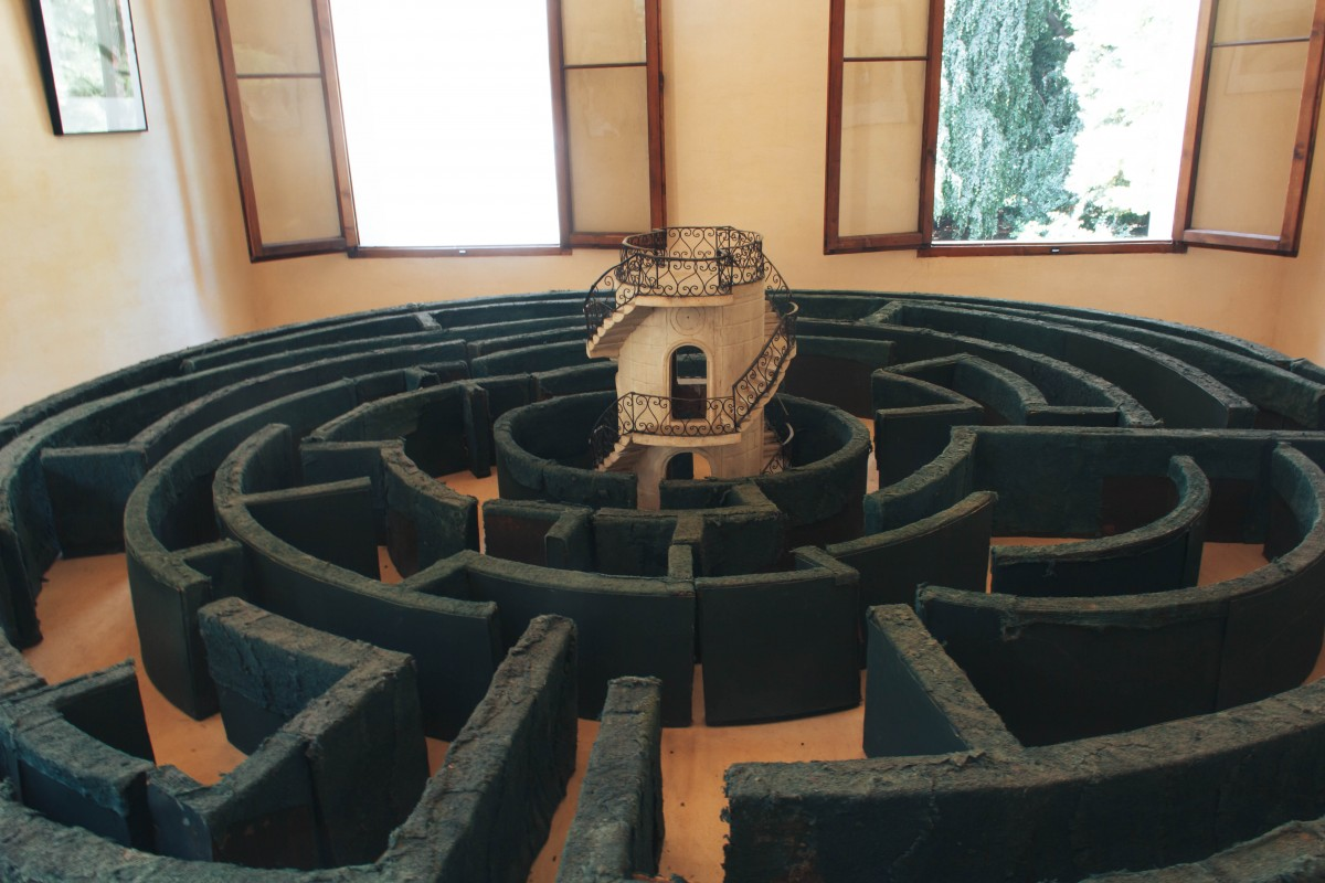 Вилла Пизани лабиринт