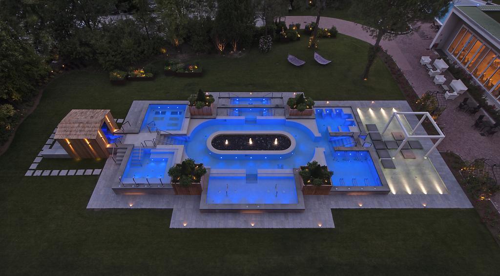 Абано Терме отель Миони Пезато Пеццато бассейн калифорния