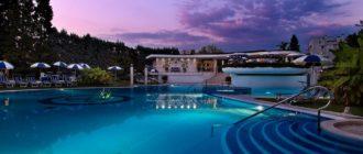 Абано Терме отель Миони Пезато Пеццато бассейн