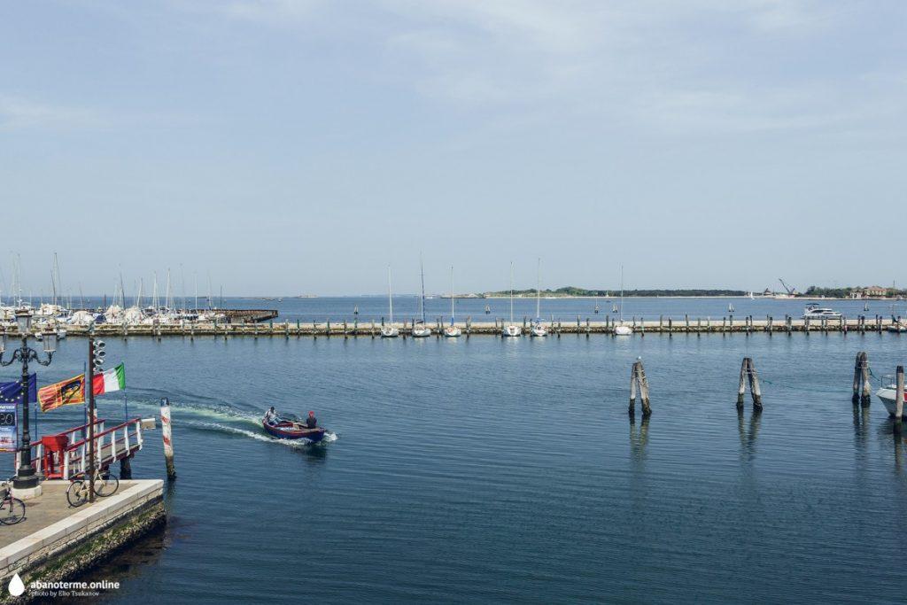 Кьоджа Италия Порт Море Лагуна