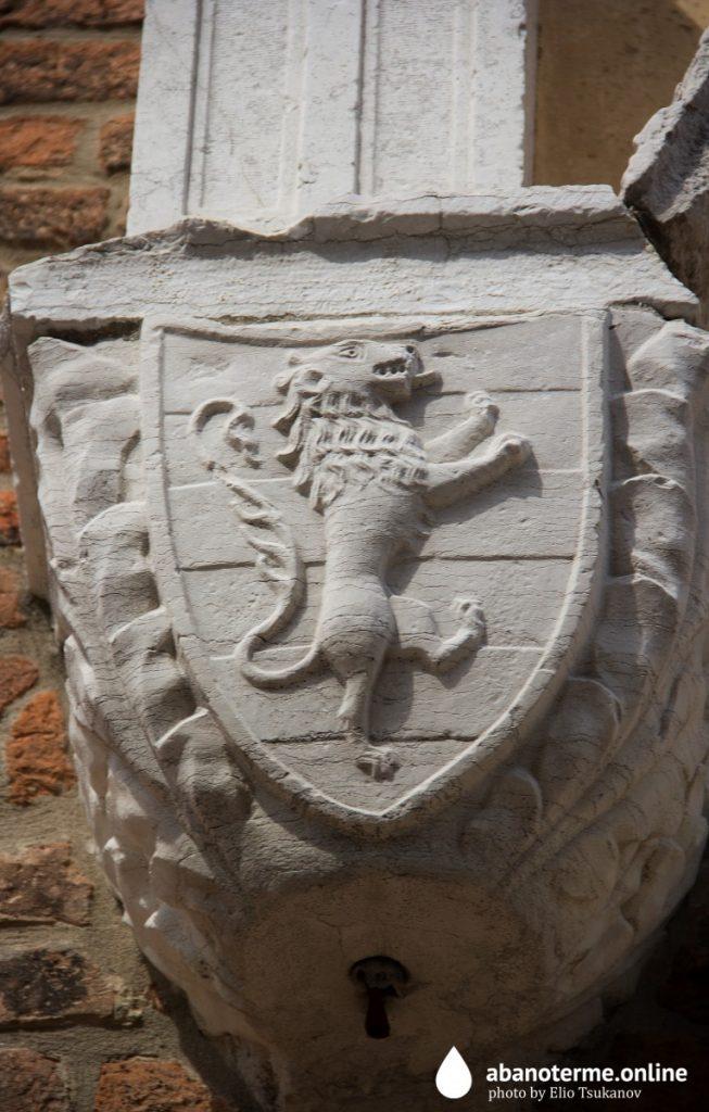 Кьоджа Италия Символ Города Необузданный Лев