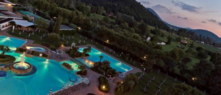 Монтегротто Терме Италия отели санатории лечение