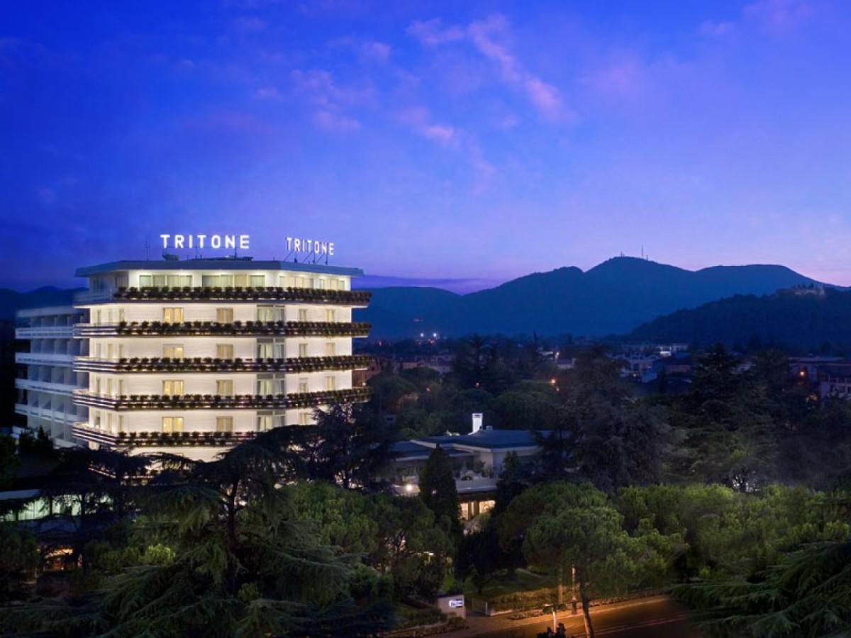 Отель Тритон в Абано Терме