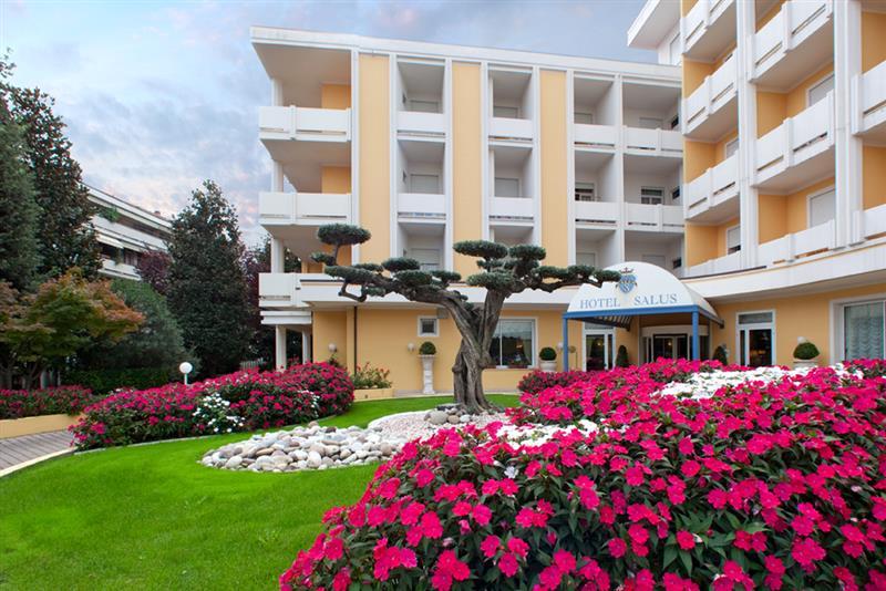 Отель Салус в Абано Терме