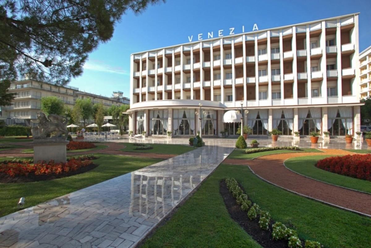 отель Венеция в Абано Терме, Италия