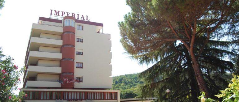 Отель Империал в Монтегротто Терме