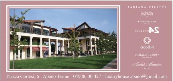 шопинг в Абано Терме luxury house
